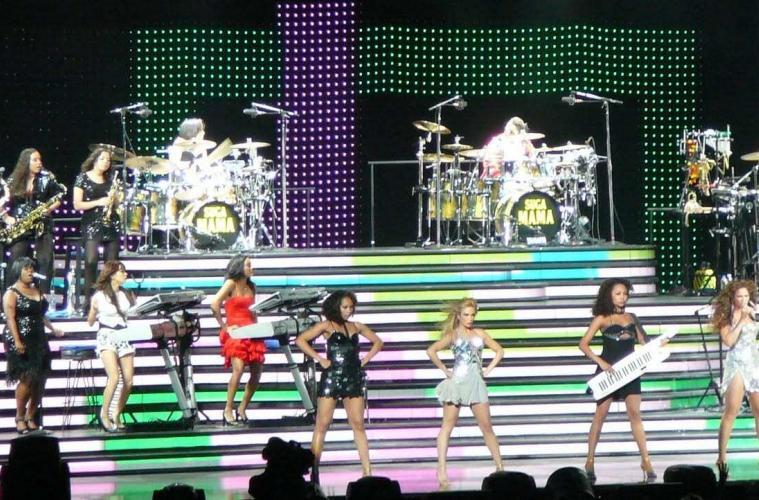 """OnTheGig interview with The Beyonce's All-Girl Band, """"The Suga Mamas""""."""